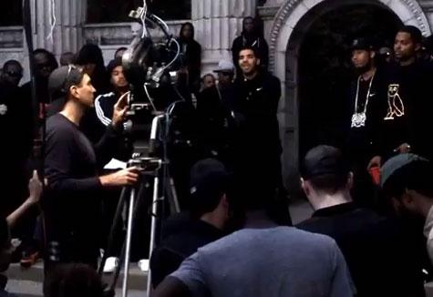 Drake Shoots 'Headlines' Video in Toronto
