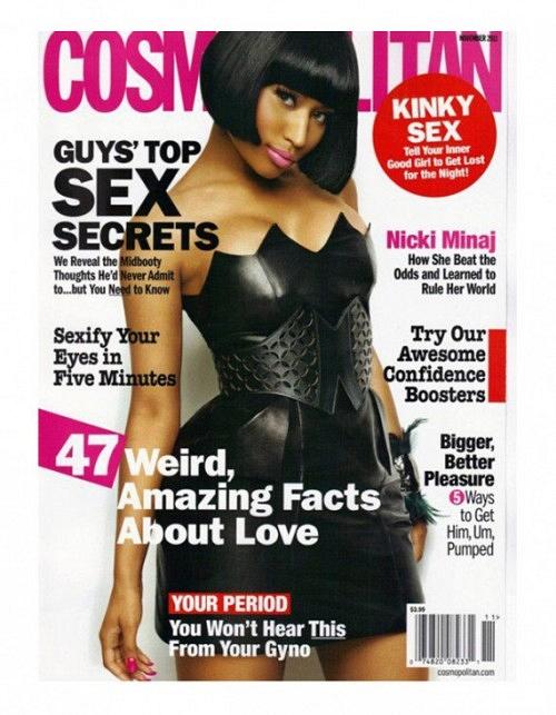 Nicki Minaj Covers Cosmopolitan's November Issue