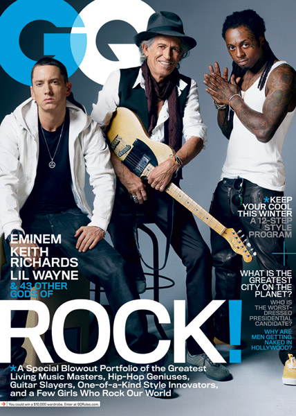 Eminem and Lil Wayne Cover GQ's Music Issue
