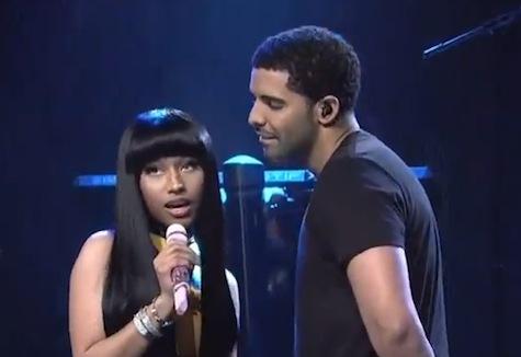 Drake and Nicki Minaj Perform 'Make Me Proud' on 'SNL'