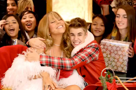 Music Video: Justin Bieber & Mariah Carey – 'All I Want for Christmas Is You'