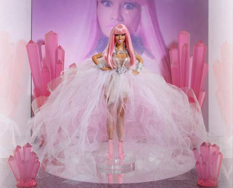 Nicki Minaj Limited Edition Barbie Doll to Be Auctioned for Charity