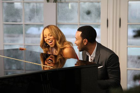 Music Video: Mariah Carey & John Legend – 'When Christmas Comes'