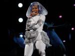 Nicki Minaj Performs at NBA All-Star Game